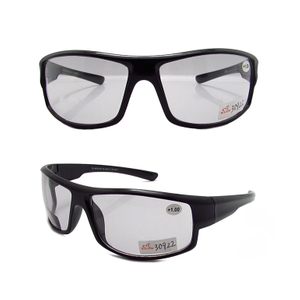 Sport style photochromic bifocal reading glasses