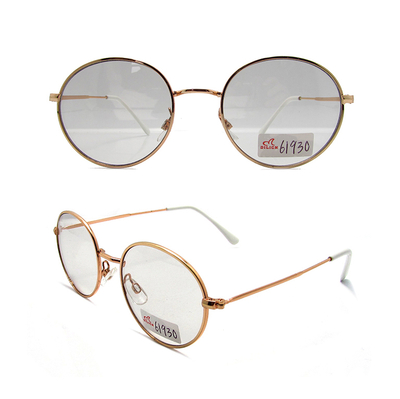 Metal photochromic reading sunglasses