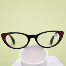 PC cat eye reading glasses
