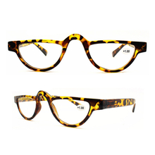 Vintage Half Moon Reading Glasses Cat Eye Readers