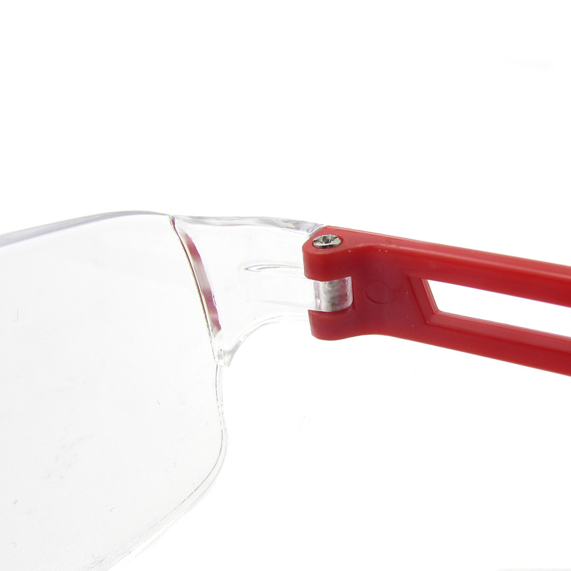 PC rimless reading glasses one piece readers rectangle ultra-transparent lens eyewear frame