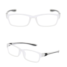 Fashion transparent colors reading glasses lightweight eyewear