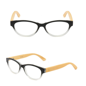 New arrival reading glasses bamboo temple presbyopic glasses