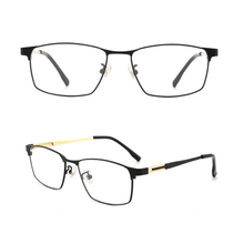 Titanium Eyeglasses Business Optical Frame Clear Lens