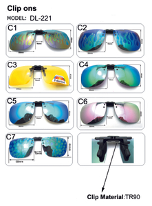 Wholesale Sunglasses Polarized Clip for Myopia Men And Women Driving Uv400