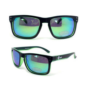 Classic Rectangular Polarized Floating Sunglasses Light Weight Eyewear