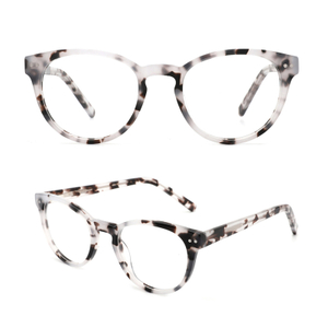Unique Design With Wide Clear Lens Acetate Eyeglasses for Men And Women Teenager