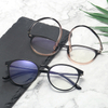 Anti Blue Light Glasses Men Gaming Round Blocking Blue Ray Classic TR90 Women Protection Eyeglasses for Computer Work