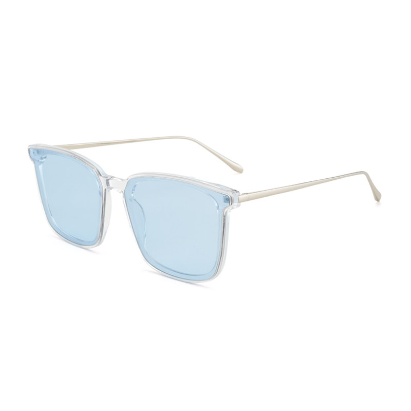 Womens Classic Square Sunglasses Unisex UV400 Mirrored Sun Glasses