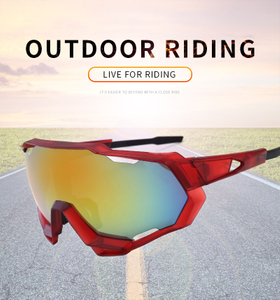 Oversized PC UV400 Outdoor Sports Sunglasses New Design Flexible UV Protection Sun glasses