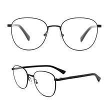 Metal Frame Women Eyeglasses Clear Lens Glasses Non-Prescription