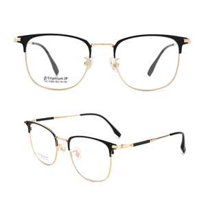 Titanium Alloy Glasses Frames Men Women Spectacle Transparent Eyeglasses Frame Business Eye Glasses Optical Glasses