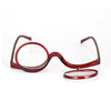2 in 1 Reading Glasses Makeup Glasses Visually Impaired Reading Glasses Rotatable Eyewear Makeup Glasses for Women