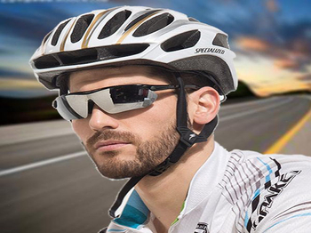 What are the benefits of wearing sports glasses?