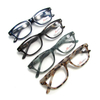 Cheap PC Material Demi Color Anti Blue Light Reading Glasses