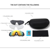 Polarized Photochromic Sunglasses For Men Women Sports Goggles with Glasses Box Cloth Test Card SunGlasses Sets