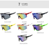 2020 Top sale sport unbreakable sunglasses UV400 sport sunglasses for men 7 In 1 Set
