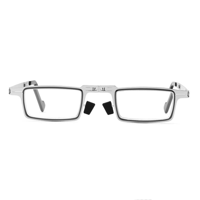 Anti Blue Light Man Women Reading Glasses Blocking Reader Folding Ultra Thin Metal Eyeglasses